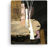 """White Vase""  Canvas Print"