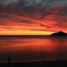 Red sky at night sailors delight by lisacorc