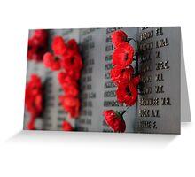 Rememberance Greeting Card