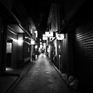 Pontocho, Kyoto by Alan Black