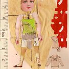 Anatomy of a doll 14 by Thelma Van Rensburg