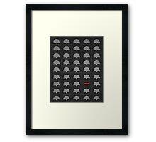 Word Leftovers: Genesis 2 Framed Print