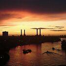 Battersea Sunset by EmilyMead