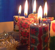 lasting candles by LisaBeth