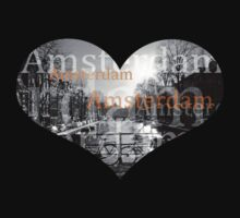 Amsterdam love by Nik Jowsey