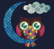 My Crescent Owl Kids Clothes