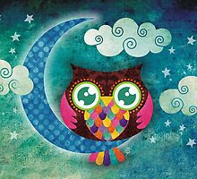 My Crescent Owl by sandygrafik