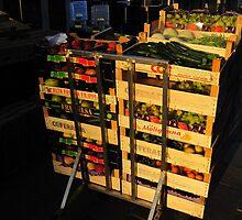 Early Morning Food Market-Venice by Darrell-photos