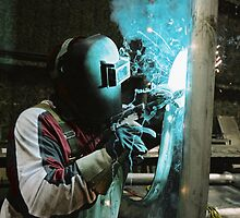 The Welder by Photo-Bob