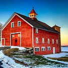 Red Barn by Michael  Petrizzo