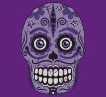 Grape Sugar Skull by Sinclair Moore