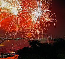 Sydney #3 | New Years Eve 2010 | Fireworks 9pm by Bill Fonseca