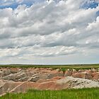 Badlands meet the Prairie by J. Day