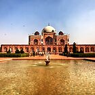 Humayun's Tomb by Roddy Atkinson