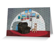Two Chairs, A Nautical Tale and a Deep-sea Freak Greeting Card