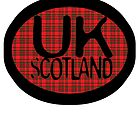 uk scotland greeting card logo by ian rogers by ukscotland