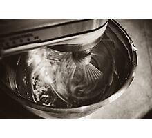 Whirring Mixer Photographic Print