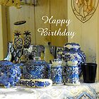 Blue Delft Birthday  by © Betty E Duncan ~ Blue Mountain Blessings Photography