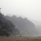 A Foggy Day In Cannon Beach by tmtphotography