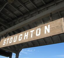 Old stoughton Sign at Stoughton's Commuter Rail Sta. by Eric Sanford