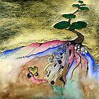 Fairy Tree #3 - Escarpment Love by niffercat