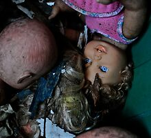 Creepy abandoned Dolls by ashley hutchinson