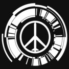 Metal Gear Solid-peace walker symbol white by Brenden Bencharski