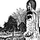 CRACKED BACK BUDDHA! by NICK COBURN PHILLIPS