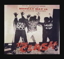 The Clash T Shirt, Hate and War by cheezeT