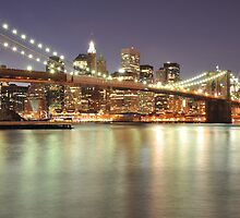 Brooklyn Bridge and Lower Manhattan by Shutter and Smile Photography