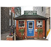 Cooperstown Diner - Upstate New York Poster