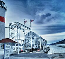 Lighthouse at Lake Otsego - Cooperstown, NY by Shutter and Smile Photography