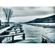 Lake Otsego - Cooperstown, NY Photographic Print