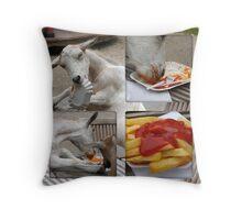 Goats-Collage Throw Pillow