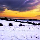 Soft Snowy Fields by Leon Ritchie