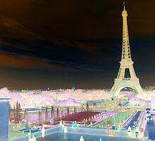Eiffel Tower - Paris by Darrell-photos