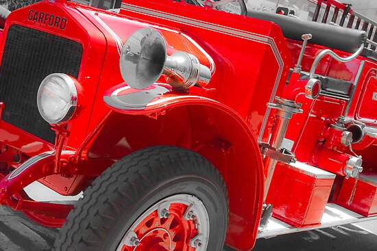 Fire Engine Red by Judith Cahill