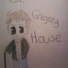 Chibi Gregory House by MyArtMyHeart
