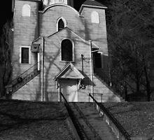 Last Church Standing in Centralia by Mark Van Scyoc