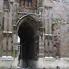 Fairytale Portal: Utrecht's Domtoren in Winter by Alison Netsel