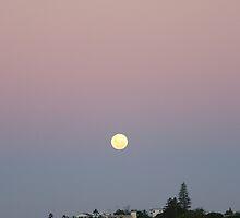 Moon Rise over Yeppoon by elsha