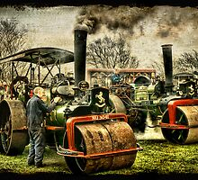 The Steam Rally by Tarrby