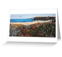 Seaview Cottage Greeting Card