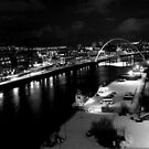 Black and White on the Tyne by Ladymoose