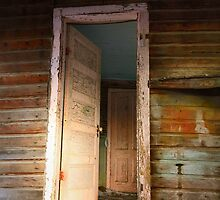 Pioneer Doorway (End of the Line) by EchoNorth