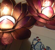 lotus lights and kissing by LisaBeth