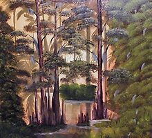 Cypress Swamp by towncrier
