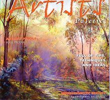 I made the Cover of 'Artist's Palette' Magazine! by Lynda Robinson
