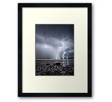 Summer Fury Framed Print