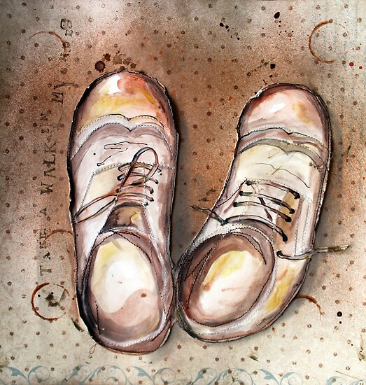 Take a walk in someone's shoes by Jenny Wood